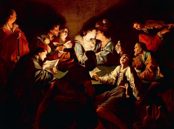 Jean Le Clerc, Nocturnal Concert, 1621-22