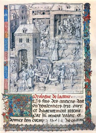 Jean le Tavernier, Sarlmanin fetihlerinden bir sayfa, 1460 dolaylari