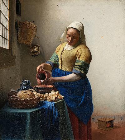 Johannes Vermeer, The Milkmaid, 1657-58