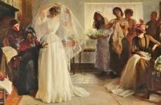 John Henry Frederick Bacon, The Wedding Morning, 1892