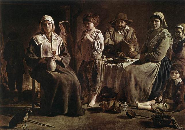 Le Nain Brothers, Peasant Family, 1640