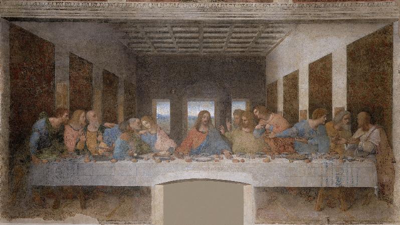 Leonardo da Vinci, The Last Supper, 1498