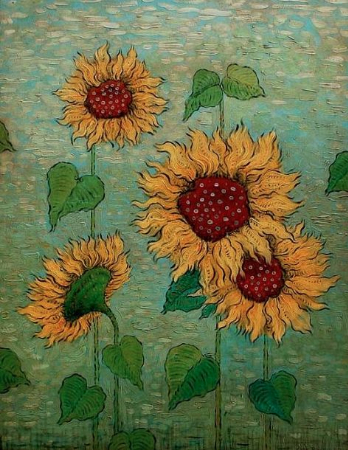 Mark Briscoe, Sunflowers