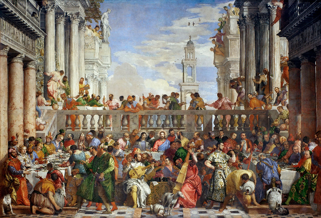 Paolo Veronese, The Wedding at Cana, 1562-63
