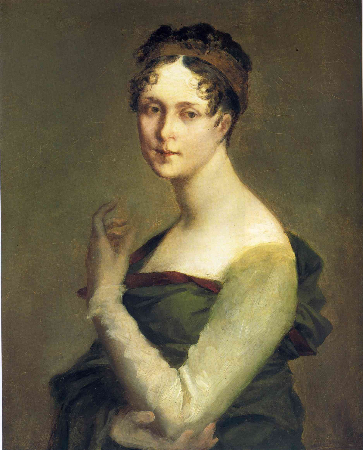 Pierre-Paul Prud'hon, Portrait of Josephine de Beauharnais, 1800