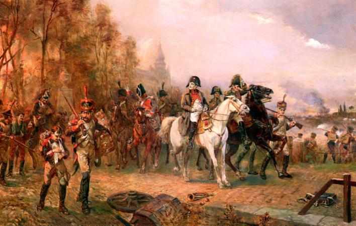 Robert Alexander Hillingford, Napoleone alla battaglia di Borodino, 1812