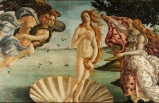 Sandro Botticelli, The Birth of Venus, 1482-86