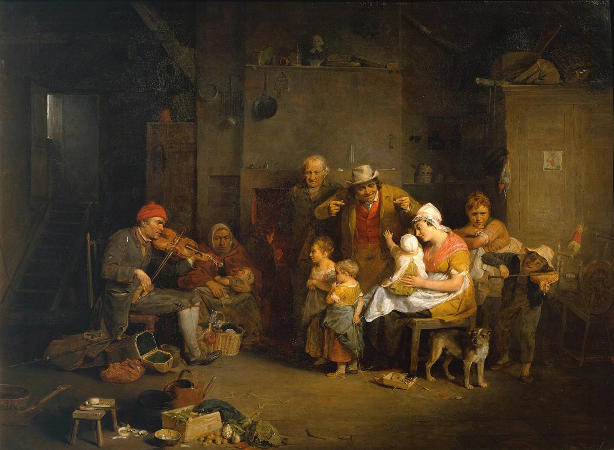 Sir David Wilkie, The Blind Fiddler, 1806
