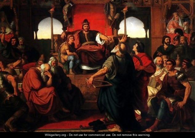 The Feast of Attila, 1870