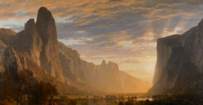 Albert Bierstadt, Looking Down Yosemite Valley, 1865