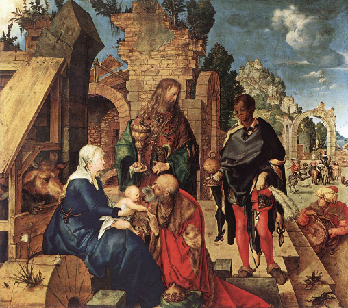 Albrecht Durer, Adoration of the Magi, 1504