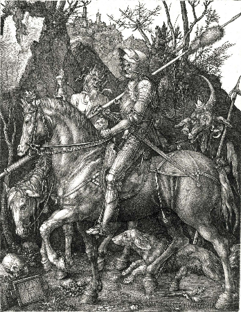 Albrecht Durer, Knight, Death and the Devil, 1513