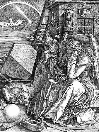 Albrecht Durer, Melencolia I, 1514