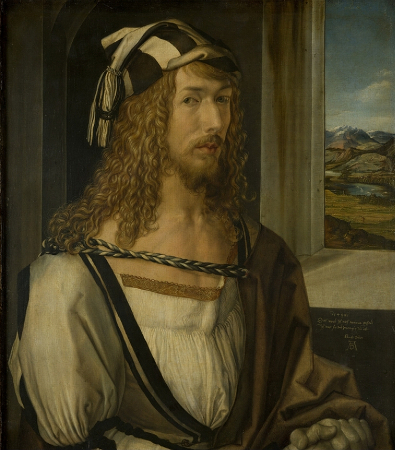 Albrecht Durer, Self Portrait, 1498