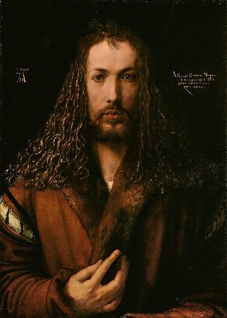 Albrecht Durer, Self Portrait, 1500