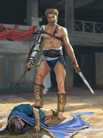 Andrei Pervushin, Spartacus