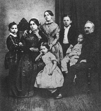 Caykovski ve Ailesi, 1848