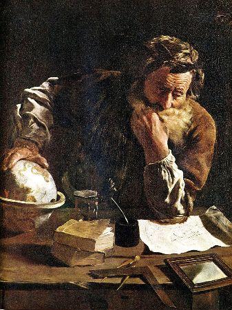 Domenico Fetti, Archimedes, 1620