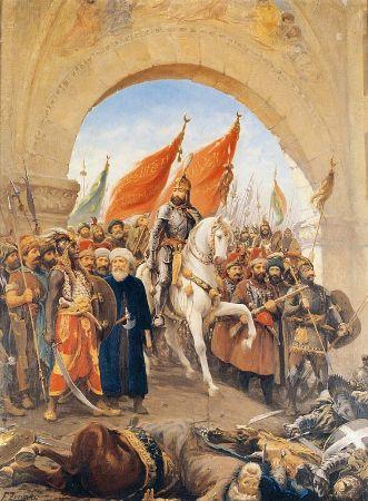 Fausto Zonaro, İstanbul'un Fethi 1453