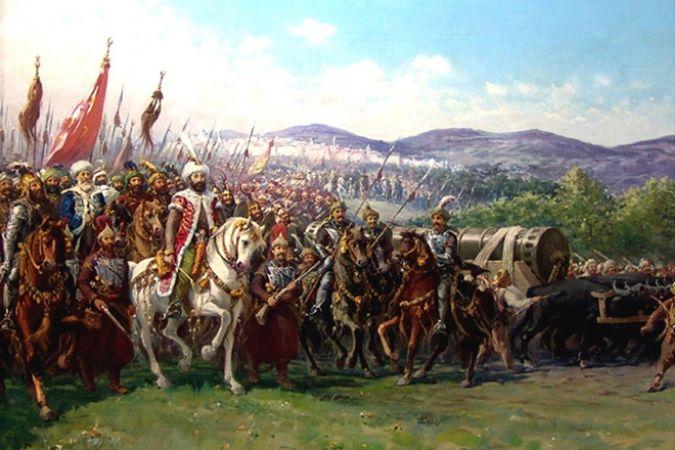 Fausto Zonaro, Mehmed II Conquering Constantinople, 1903