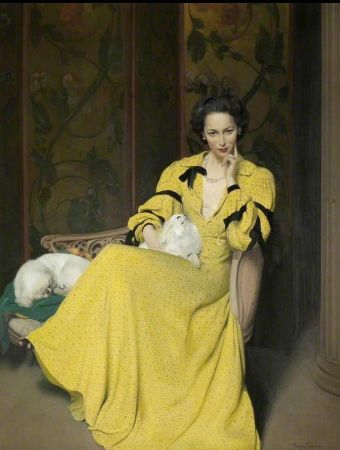 Herbert James Gunn, Pauline In The Yellow Dress, 1944