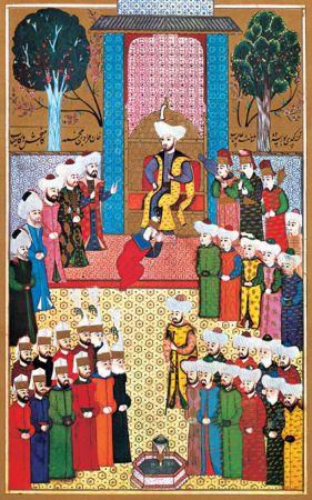 II. Murad'in Bursa'da Culus Toreni, Nakkas Osman