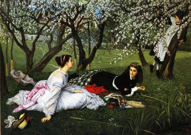 James Tissot, Spring, 1865