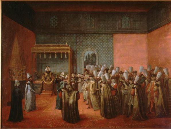 Jean-Baptiste van Mour, Réception d'un ambassadeur français à Constantinople