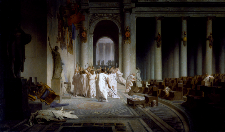 Jean-Leon Gerome, The Death Of Caesar