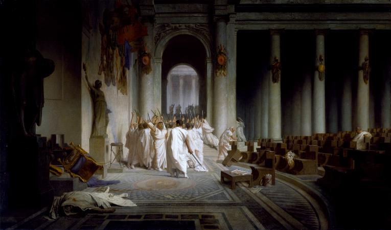 Jean-Leon Gerome, The Death Of Caesar