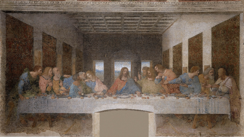 Leonardo da Vinci, The Last Supper, 1495-98