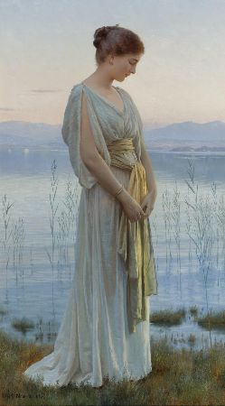 Max Nonnenbruch, Evening By The Lake