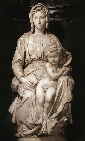 Michelangelo, Madonna and Child, 1501-05