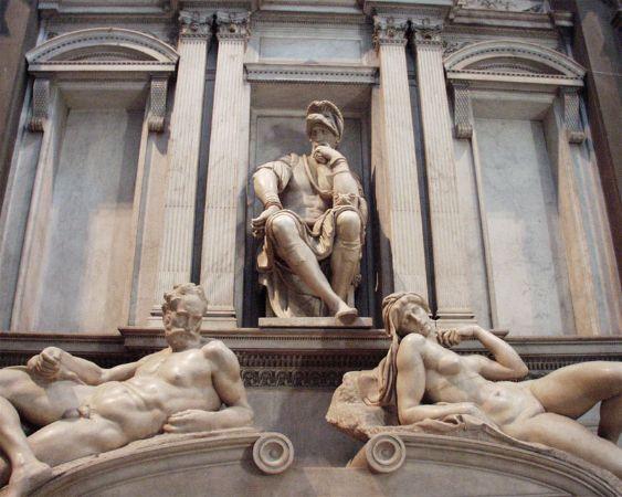 Michelangelo, Medici Chapels