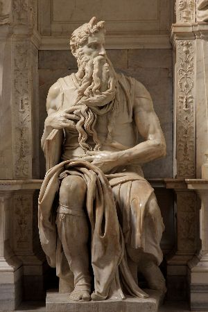 Michelangelo, Moses, 1513-15