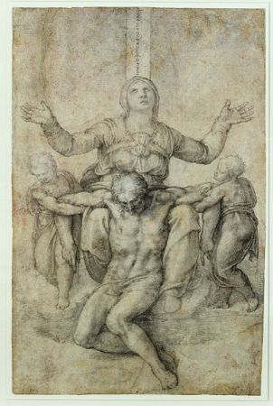 Michelangelo, Pieta for Vittoria Colonna, 1546