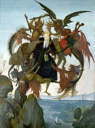Michelangelo, The Torment of Saint Anthony, 1488