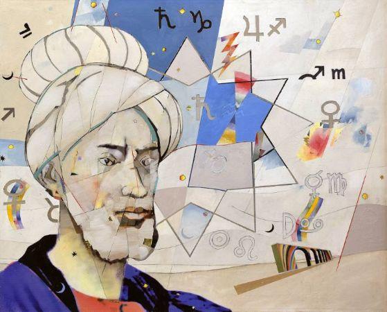 Mimmo Frassineti, Portrait of Omar Khayyam