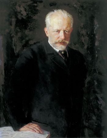 Nikolai Dmitrievich Kuznetsov, Portrait of the composer Pyotr Ilyich Tchaikovsky, 1893