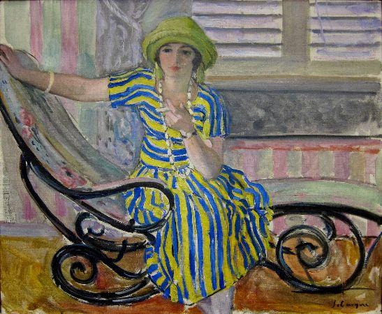 Roubaix Henri Lebasque, La Cigarette, 1921