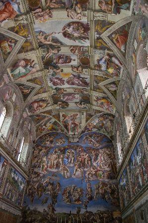 Sistine Chapel, 1508-1512