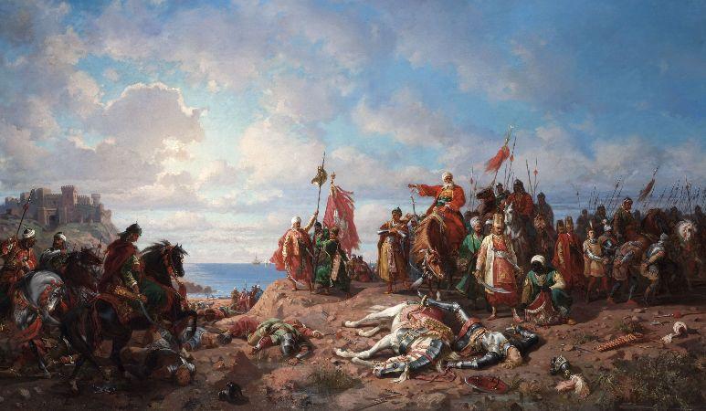 Stanislaw Chlebowski, The Battle of Varna, 1865-75