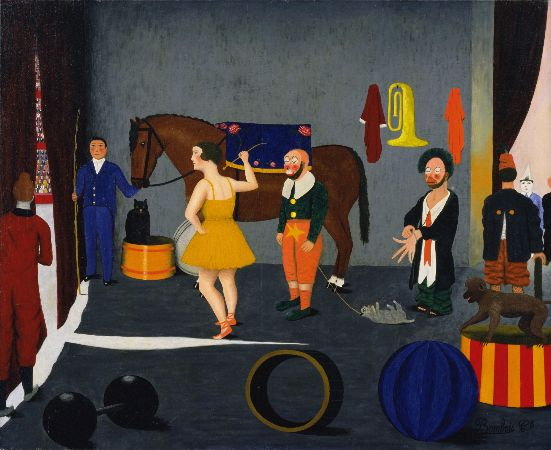 Camille Bombois, Before Entering The Ring, 1930-35