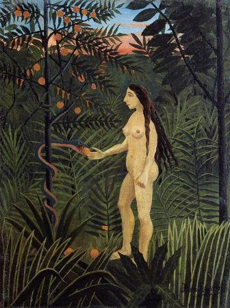 Henri Rousseau, Eve, 1906-07
