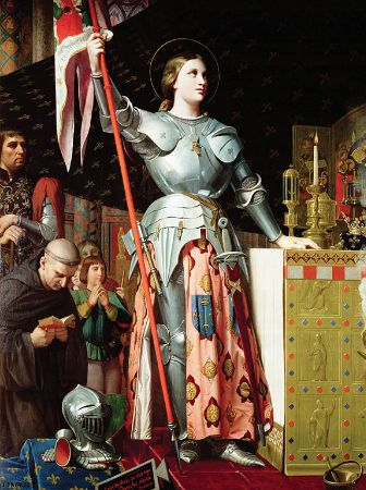 Ingres, Joan of Arc at the Coronation of Charles VII, 1854
