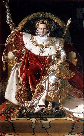Ingres, Napoleon On His Imperial Throne, 1806