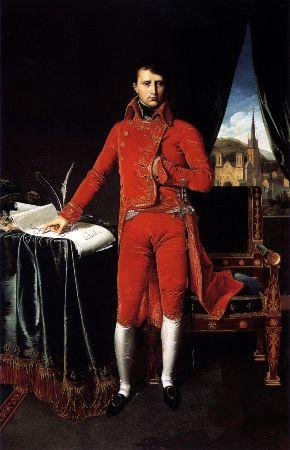 Ingres, Napolyon Bonaparte, Premier Consul, 1804