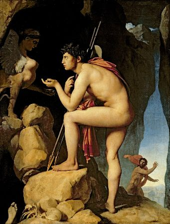Ingres, Oedipus and the Sphinx, 1808-1825