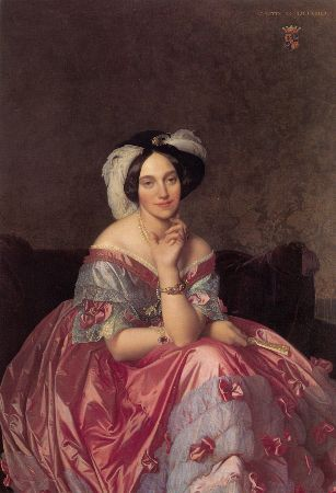 Ingres, Portrait of Baronne de Rothschild, 1848