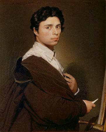 Ingres, Self Portrait, 1804